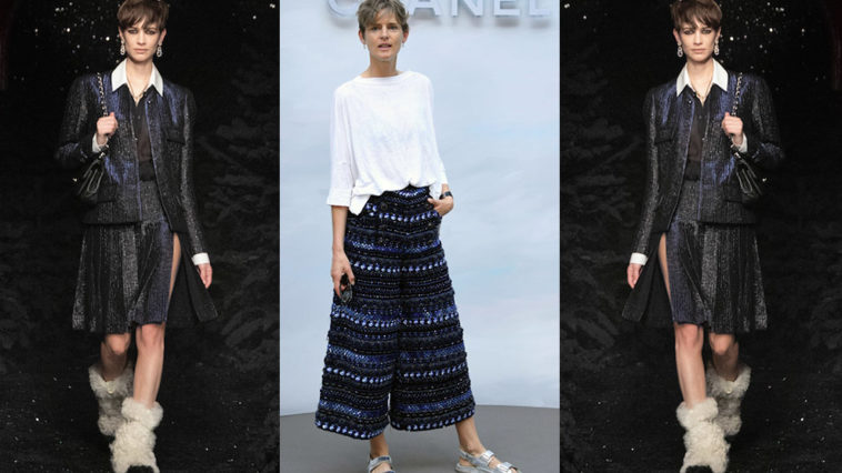 Le défilé Chanel dédié à la top model Stella Tennant